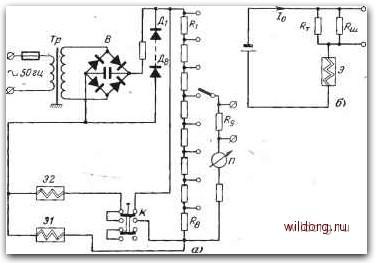 электрические схемы приводов